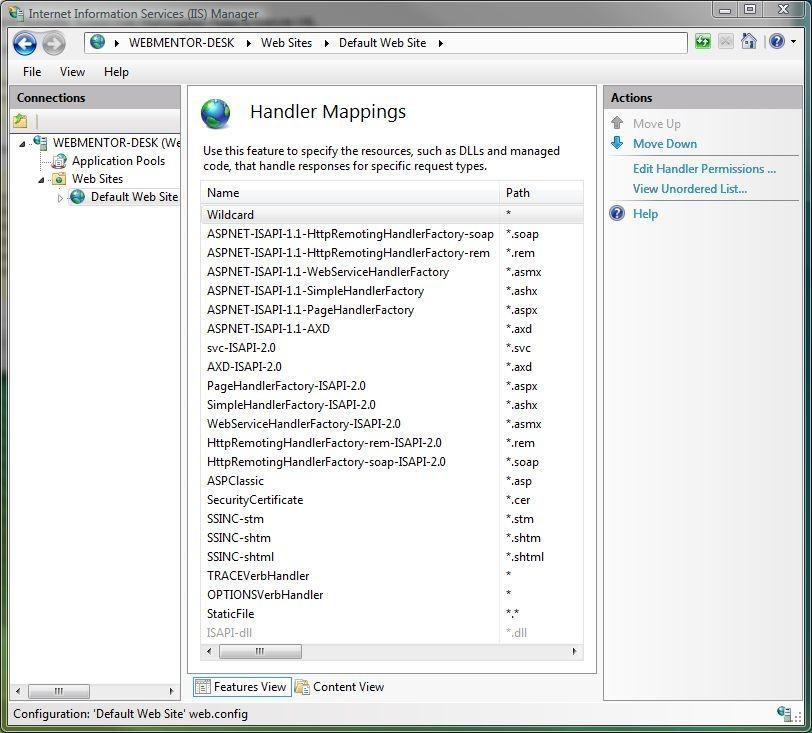 iis7 url rewriting add-in