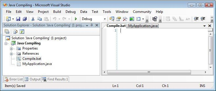 compile java in visual studio code