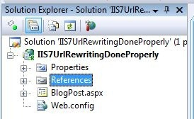 How To Do URL Rewriting on IIS 7 Properly | Mark S  Rasmussen