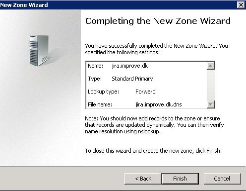 Partial DNS Forwarding Using Individual Windows DNS Zones
