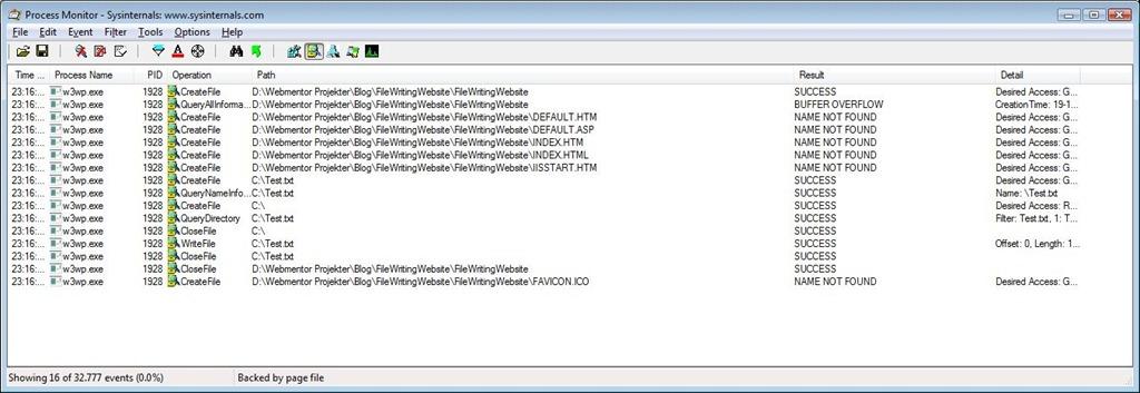 Solving Access Denied Errors Using Process Monitor | Mark S