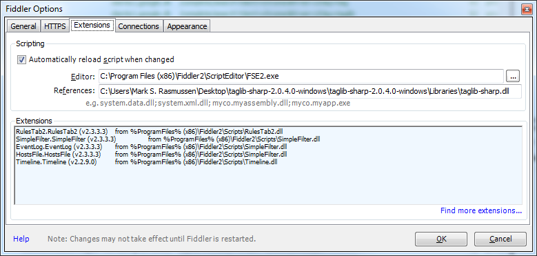 Using Fiddler to Automatically Download Streamed MP3s   Mark